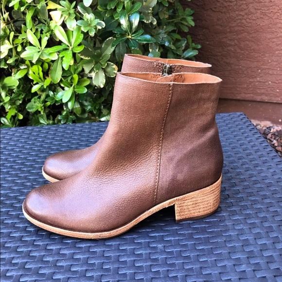 Women/'s Kork Ease Zip On Ankle Boot Mayten Tan Aztec Brown Leather K54006